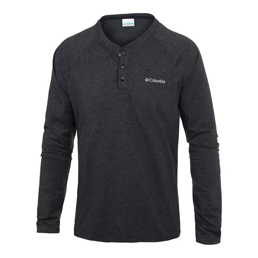 סווטשירט לגברים - Global Rambler L/S Henley - Columbia