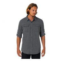 חולצה ארוכה לגברים - Walker Slim - Prana
