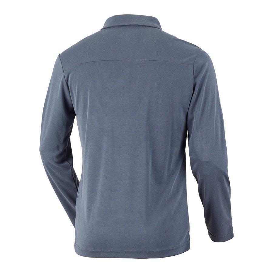 חולצה לגברים - Sun Ridge II L/S Polo - Columbia