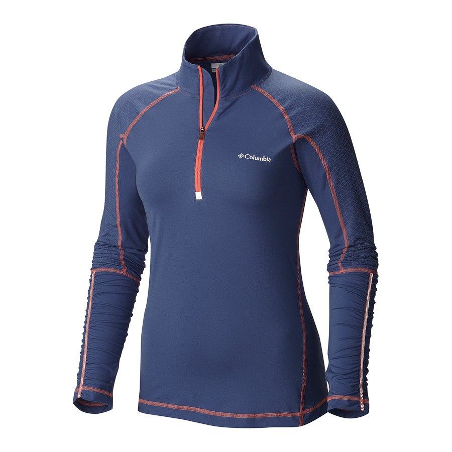 חולצה לנשים - Trail Flash Half Zip - Columbia