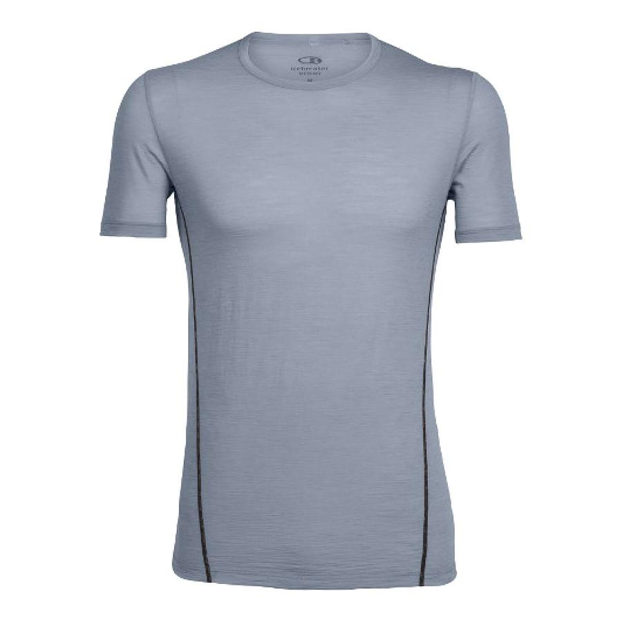 חולצה קצרה לגברים - M Aero S/S Crewe - Icebreaker
