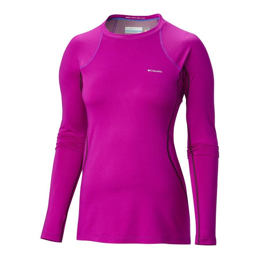 חולצה תרמית ארוכה לנשים - Heavy Weight Stretch Long Sleeve Top - Columbia