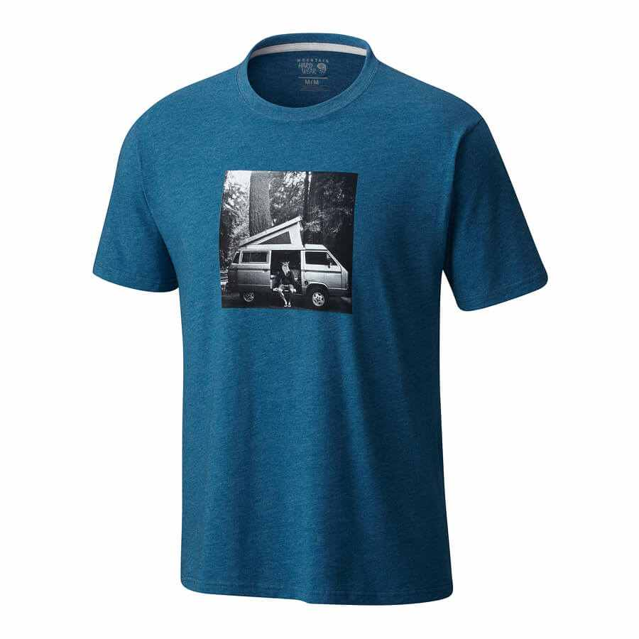 חולצה לגברים - A Man And His Van S/S T - Mountain Hardwear