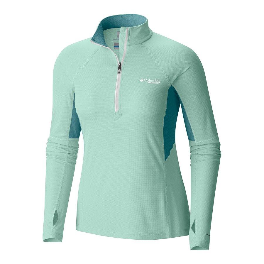 חולצה לנשים - Titan Ultra Half Zip W - Columbia, Columbia Montrail