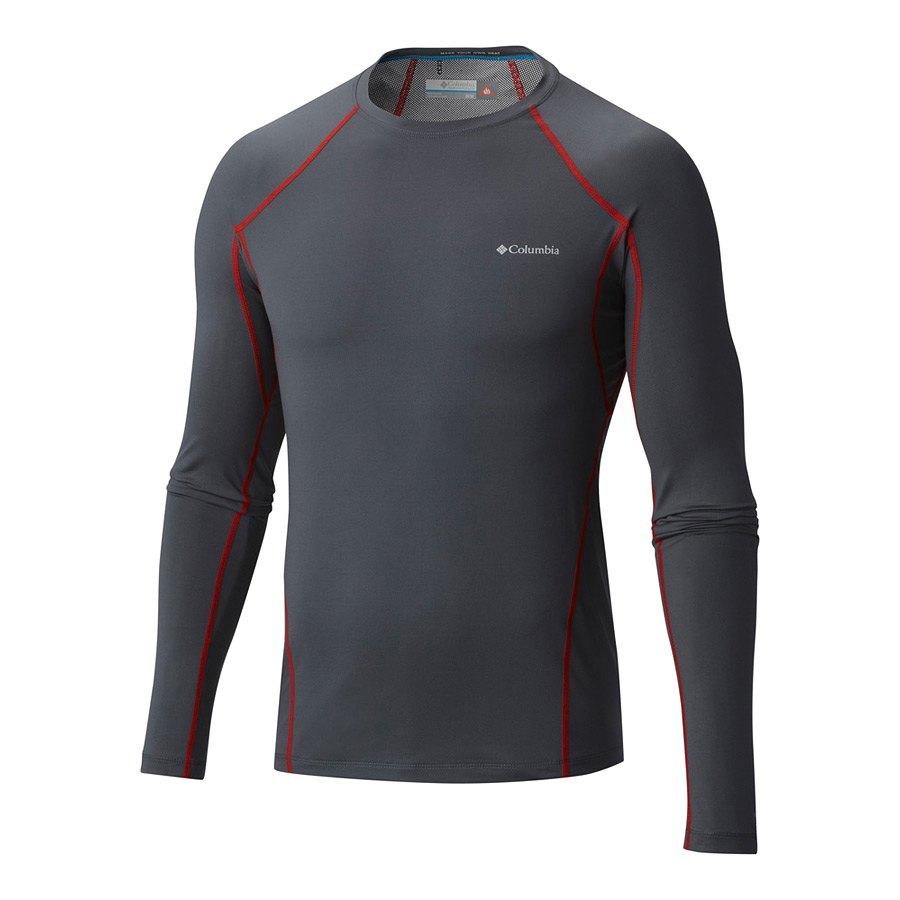 חולצה תרמית ארוכה לגברים - Midweight Stretch Long Sleeve Top - Columbia