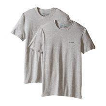 מארז שתי חולצות לגברים - Crew Neck T-Shirt 2-Pack - Columbia