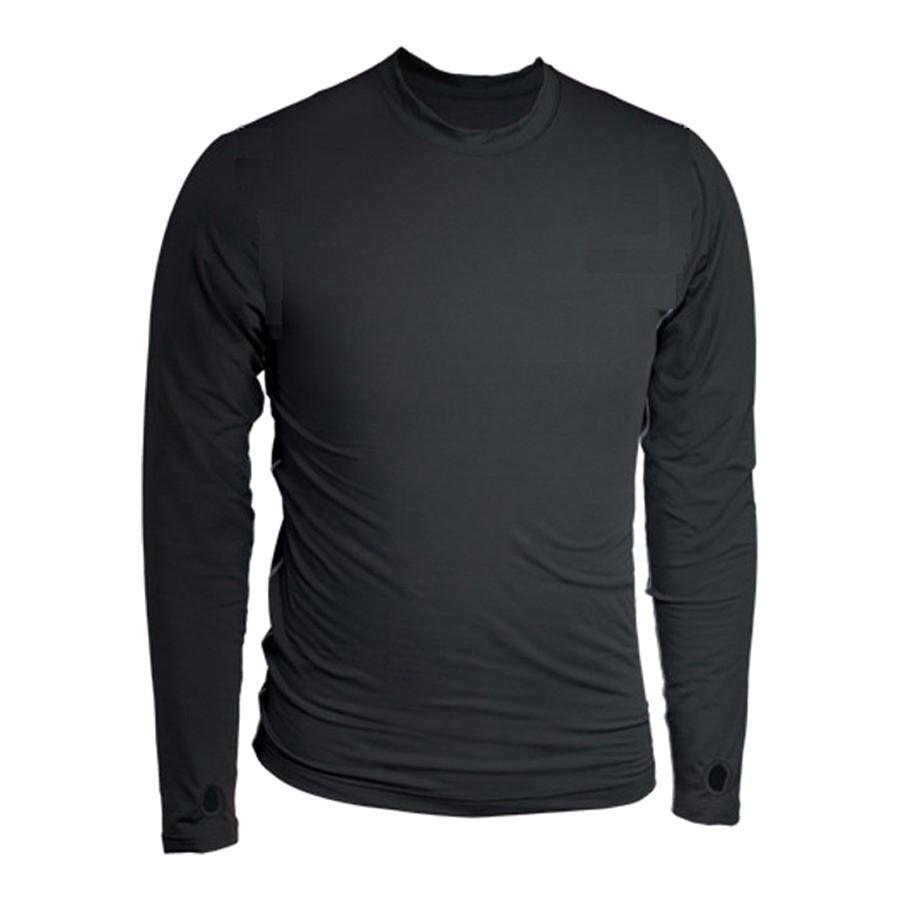 חולצת מיקרופליס לגברים - Thermolator M Crew II - Terramar