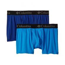 שני תחתוני בוקסר לגברים - Athletic Stretch 2 Pack Trunk - Columbia