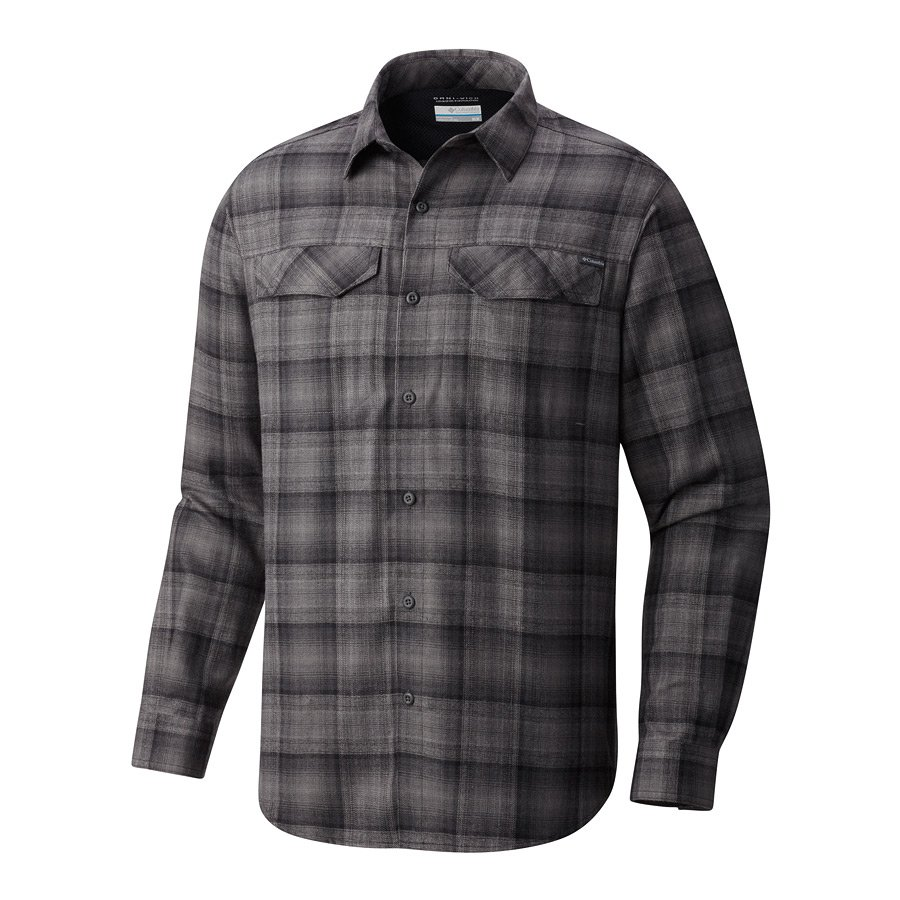 חולצת פלנל לגברים - Silver Ridge Flannel L/S - Columbia