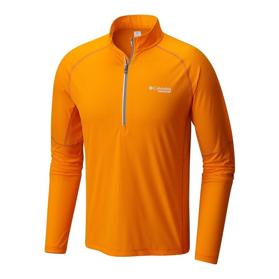 חולצה לגברים - Titan Ultra Half Zip M - Columbia, Columbia Montrail