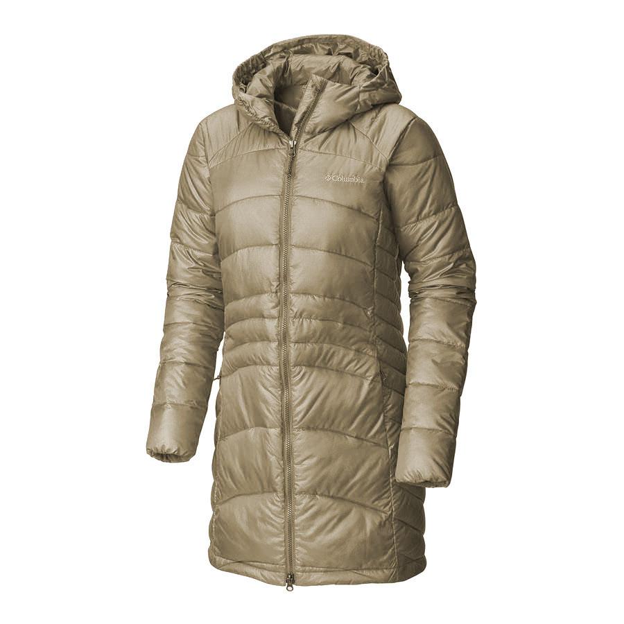מעיל מבודד לנשים - Karis Gale Long Jacket - Columbia