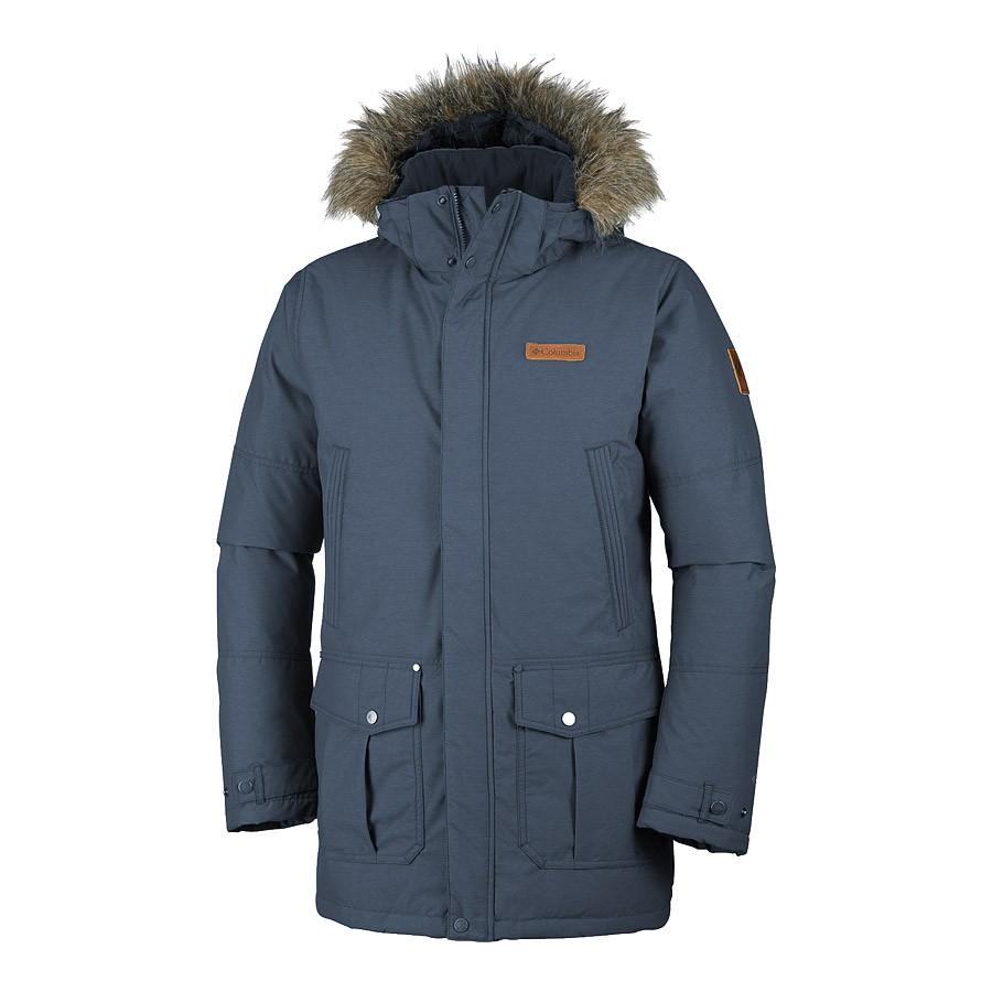 מעיל פוך סינטטי לגברים - Timberline Ridge Jacket - Columbia