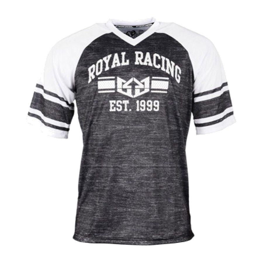 חולצת רכיבה - Graduate Jersey S/S - Royal