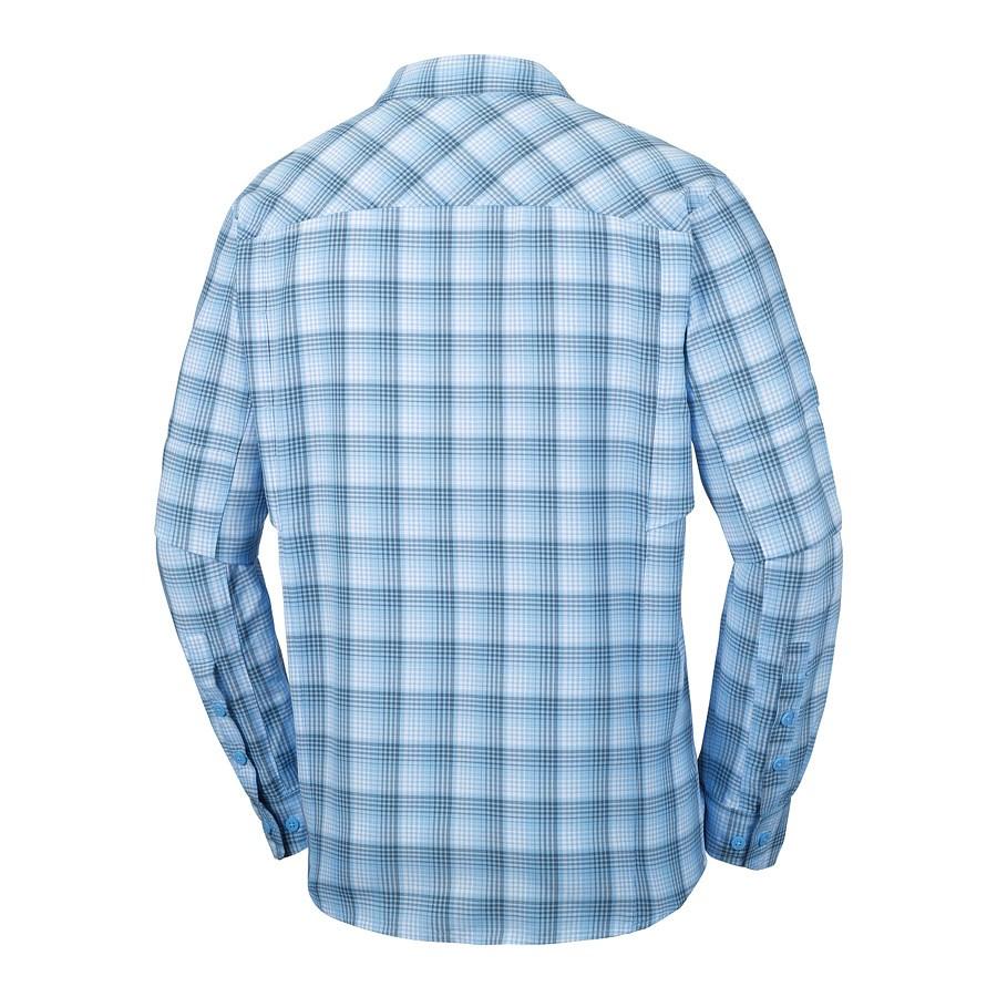 חולצה ארוכה לגברים - Silver Ridge Plaid Long Sleeve - Columbia