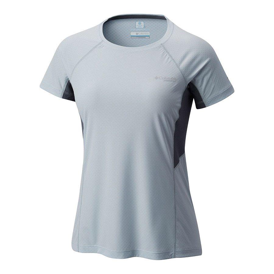 חולצה קצרה לנשים - Titan Ultra S/S Shirt W - Columbia, Columbia Montrail