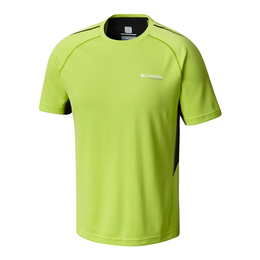 חולצה קצרה לגברים - Titan Trail Short Sleeve Shirt - Columbia