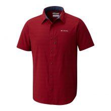 חולצה קצרה לגברים - Cypress Ridge S/S Shirt - Columbia