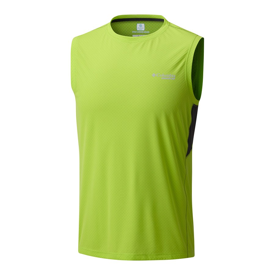 גופייה לגברים - Titan Ultra Sleeveless Shirt - Columbia Montrail