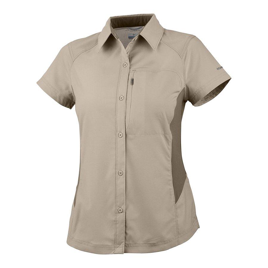 חולצה קצרה לנשים - Silver Ridge - Columbia