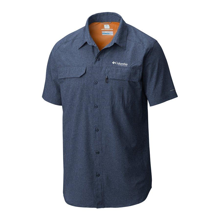 חולצה לגברים - Irico Men's Short Sleeve - Columbia