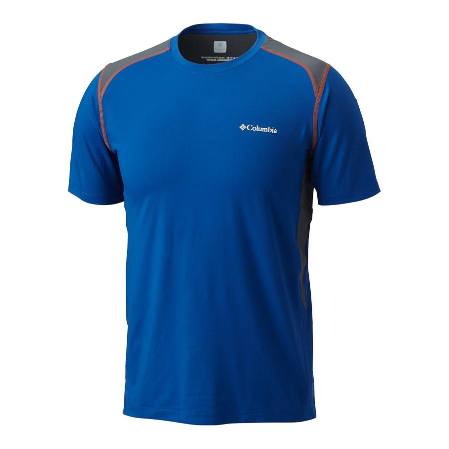 חולצה מקררת לגברים - Freeze Degree II Short Sleeve - Columbia