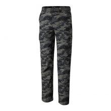 מכנסי טיולים ארוכים לגברים - Silver Ridge Printed Cargo Pant - Columbia