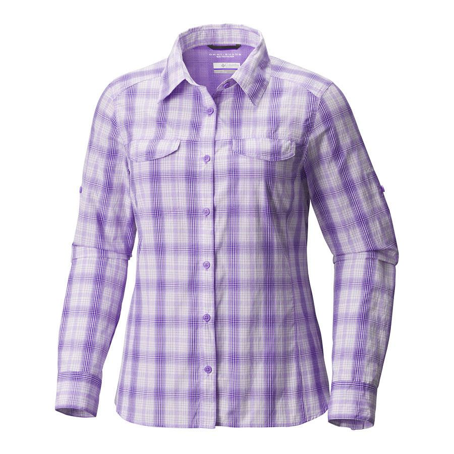 חולצה ארוכה לנשים - Silver Ridge Lite Plaid L/S Shirt - Columbia