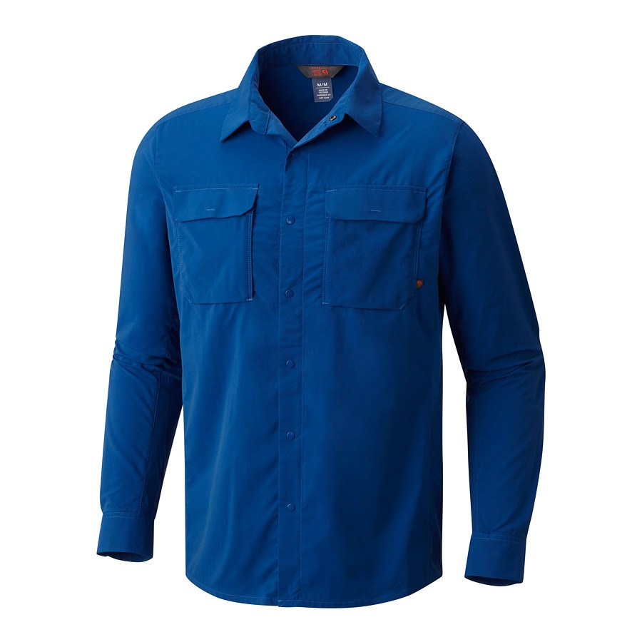 חולצה ארוכה לגברים - Canyon Pro L/S Shirt - Mountain Hardwear