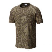 חולצה קצרה לגברים - Lookout Point Pocket T - Columbia