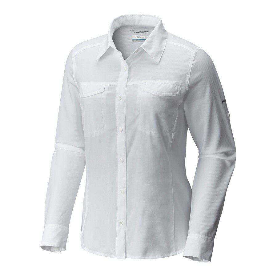חולצה ארוכה לנשים - Silver Ridge Lite L/S Shirt - Columbia