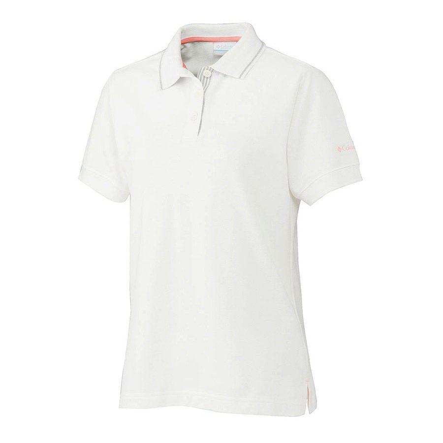 חולצת פולו לנשים - Vertical Relief Polo W - Columbia
