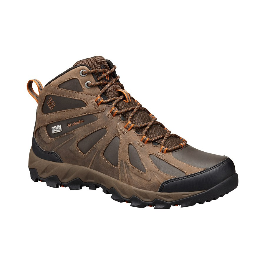 נעלי טיולים לגברים - Peakfreak Xcrsn Mid Leather OutDry - Columbia