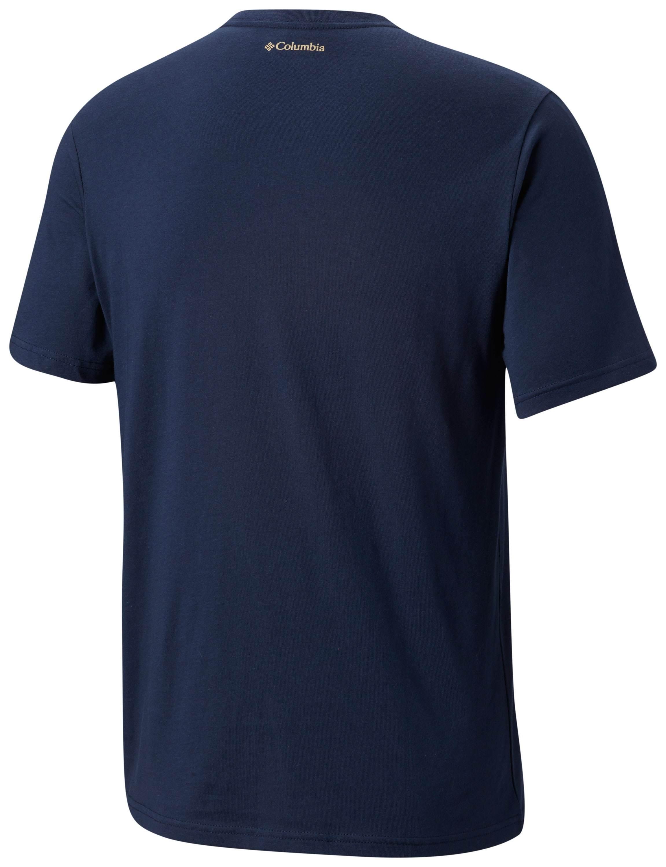 חולצה קצרה לגברים - Rough N Rocky S/S Tee - Columbia
