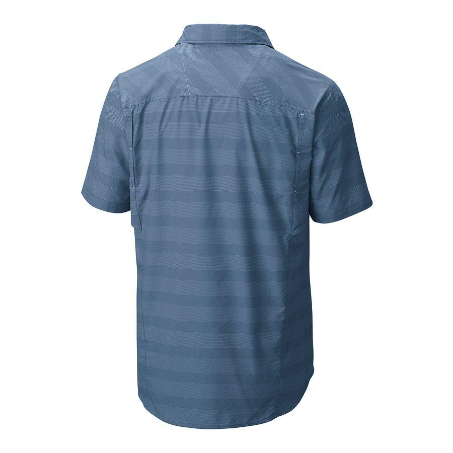 חולצה קצרה לגברים - Silver Ridge Multi Plaid S/S M - Columbia