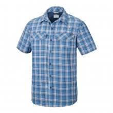חולצה קצרה לגברים - Silver Ridge Multi Plaid S/S M - Columbia