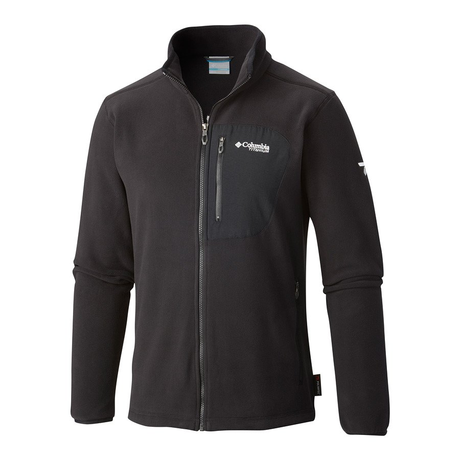 מעיל פליס לגברים - Titan Pass 2 Fleece - Columbia