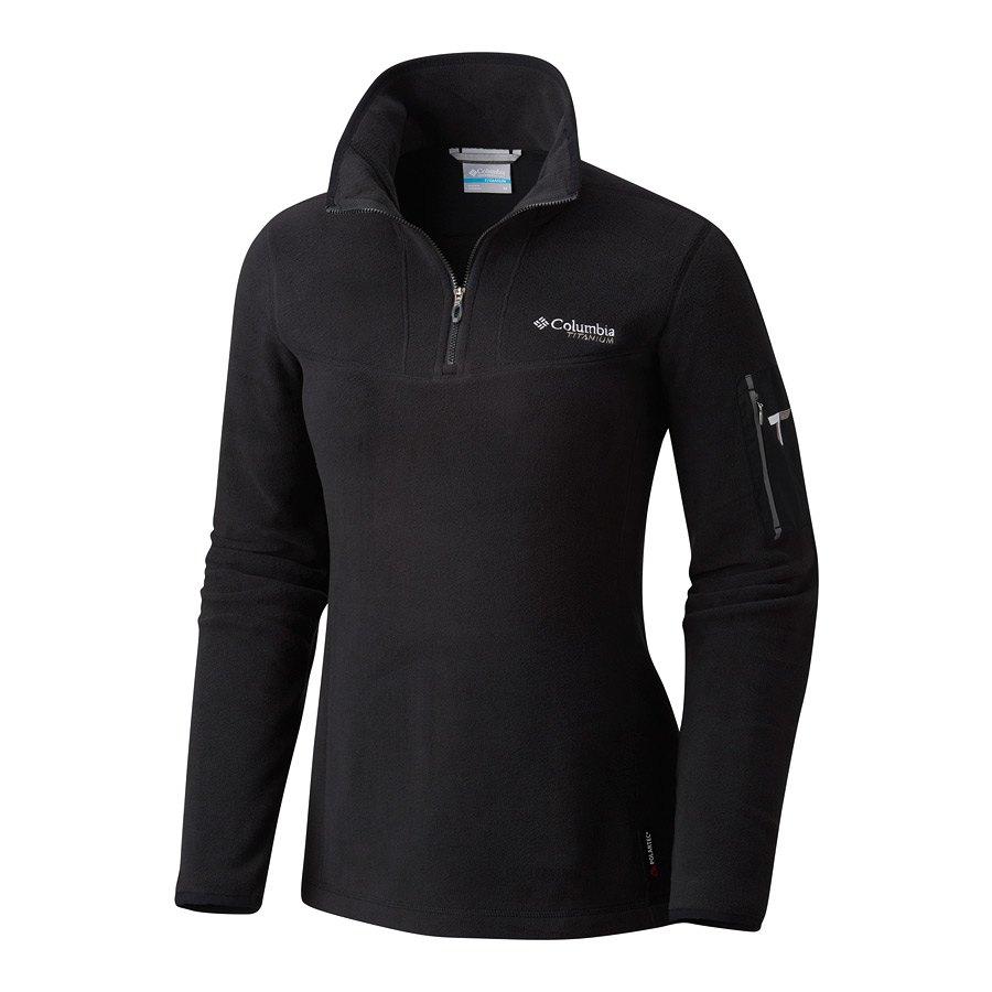 חולצת מיקרו-פליס לנשים - Titan Pass II 1.0 Half Zip - Columbia