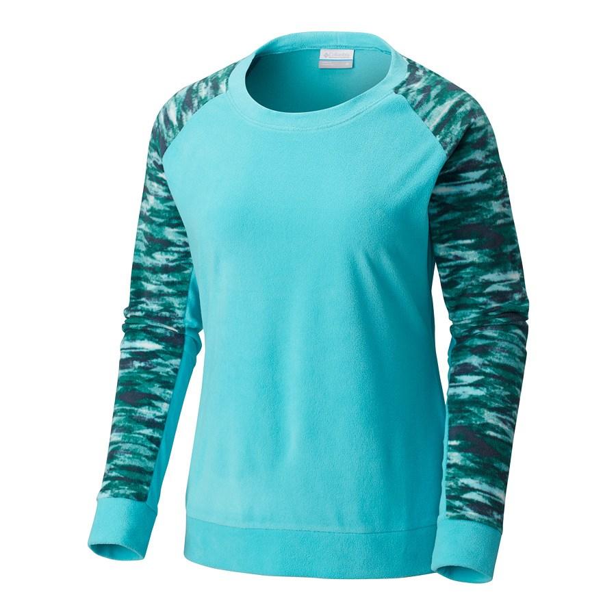 חולצת מיקרופליס לנשים - Glacial Crew neck - Columbia
