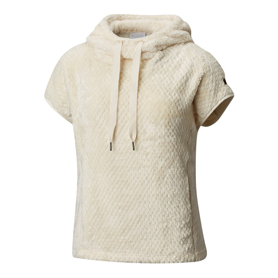 מעיל פליס לנשים - Fire Side II Sherpa Shrug - Columbia