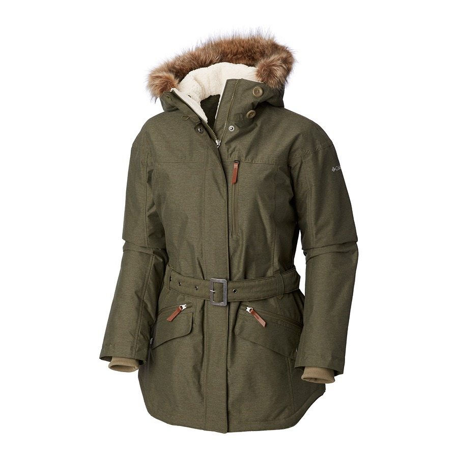 מעיל לנשים במידות גדולות - Carson Pass II Jacket - Columbia