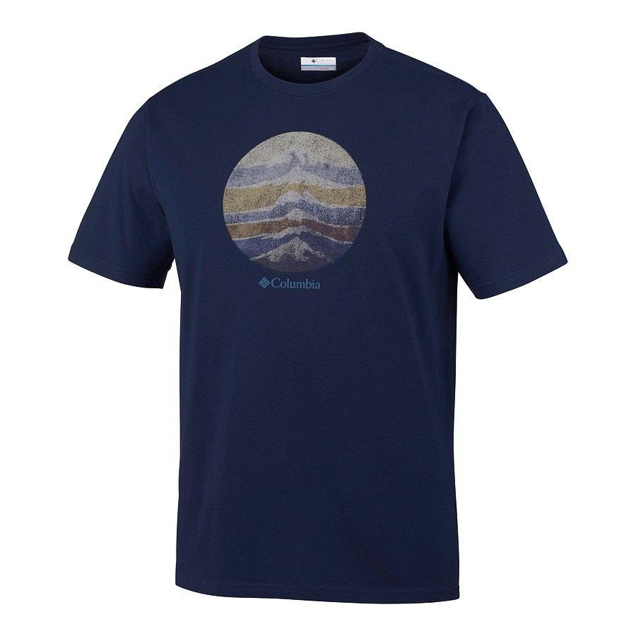 חולצה קצרה לגברים - CSC Mountain Sunset Tee - Columbia