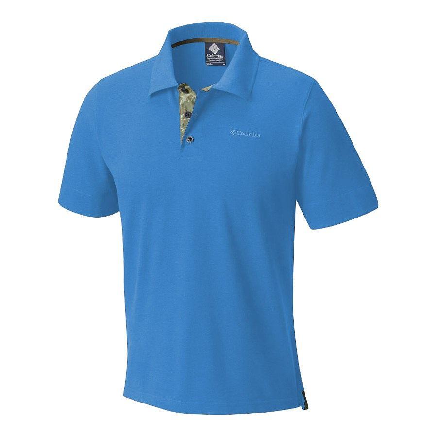 חולצת פולו לגברים - Vertical Relief Polo M - Columbia