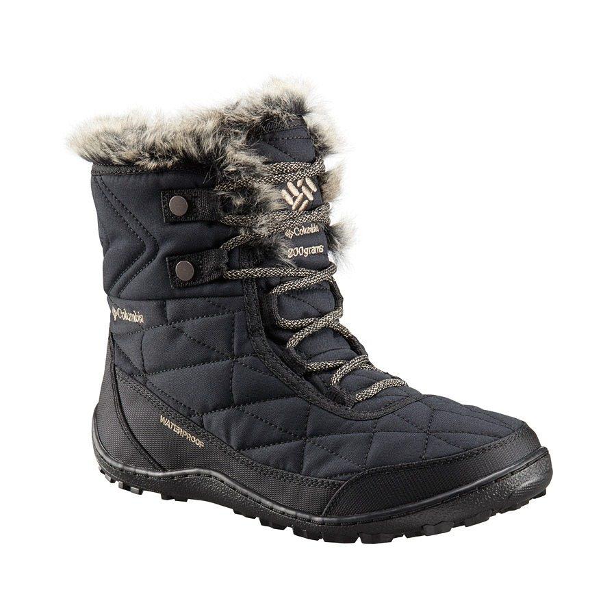 מגפיים מבודדים לנשים - Minx Shorty Omni-Heat - Columbia