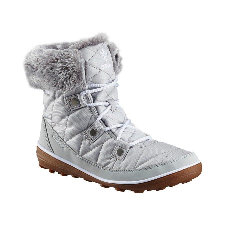 מגפיים מבודדים לנשים - Heavenly Shorty Camo Omni-Heat - Columbia