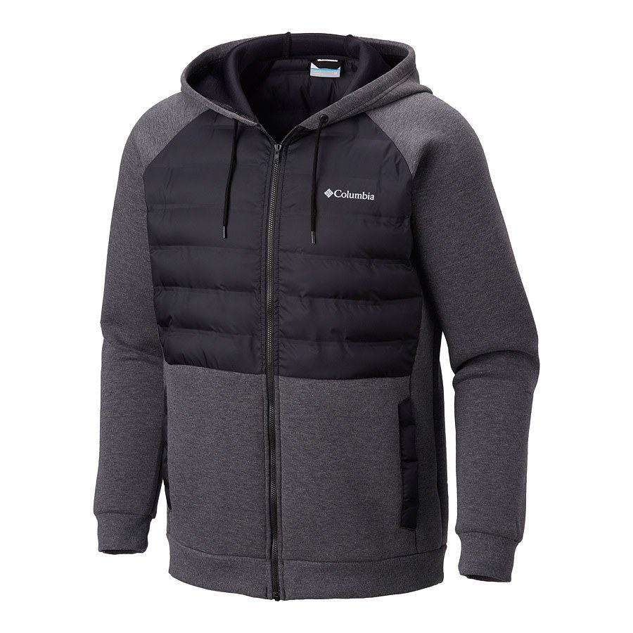מעיל מבודד לגברים - Northern Comfort II Hoodie - Columbia