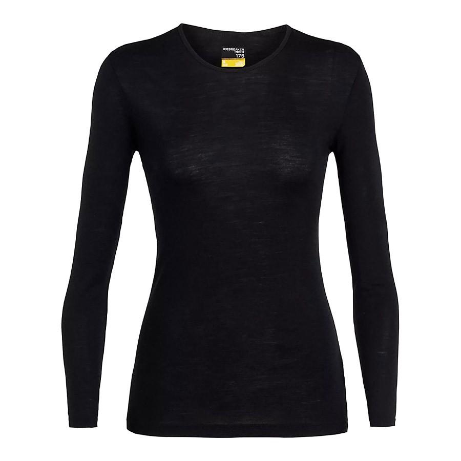 חולצה תרמית לנשים - W 175 Eday L/S Crewe - Icebreaker