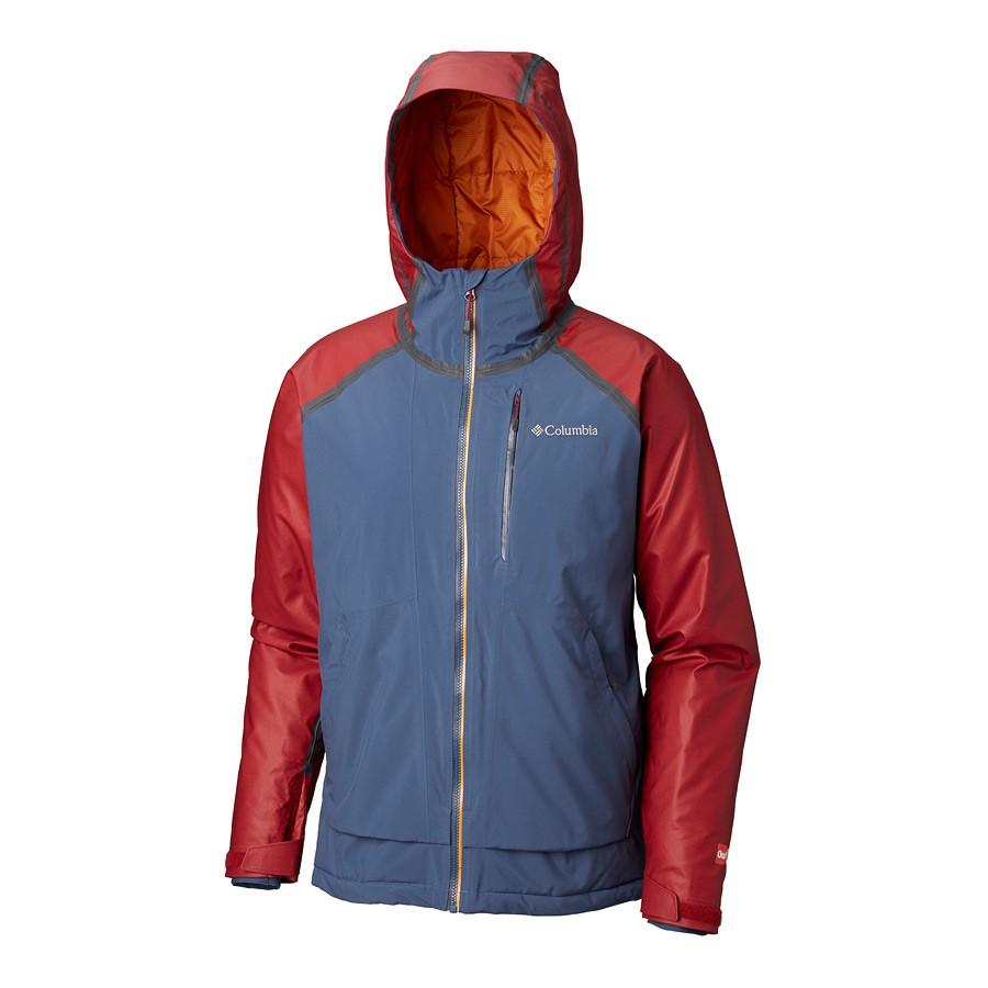 מעיל סקי לגברים - Outdry Glacial Hybrid - Columbia