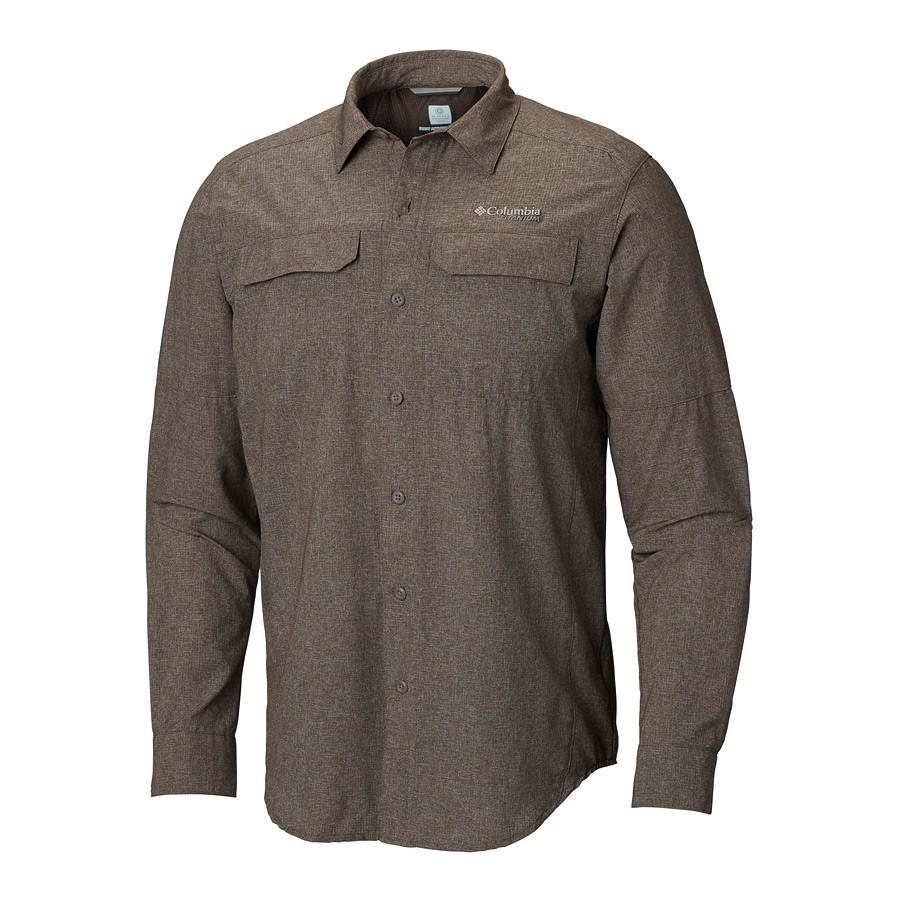 חולצה ארוכה לגברים - Irico Men's Long Sleeve - Columbia