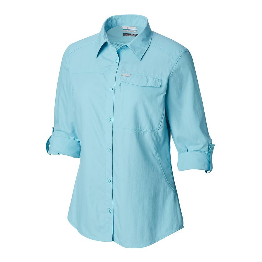 חולצה ארוכה לנשים - Silver Ridge 2 L/S - Columbia