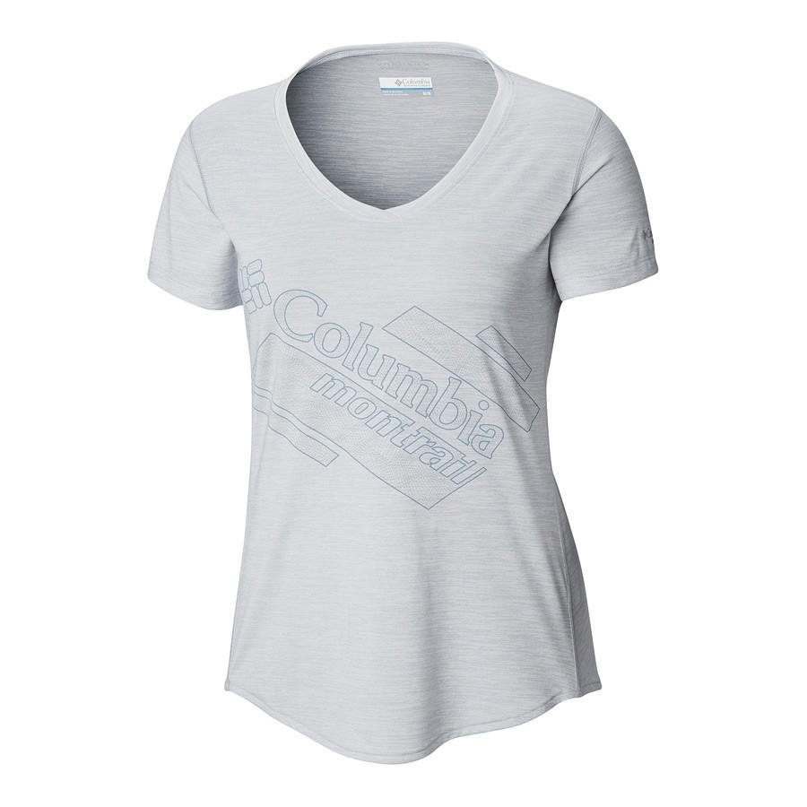 חולצה לנשים - Trinity Trail 2 Graphic S/S W - Columbia Montrail